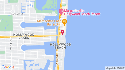 Historic Hollywood Beach Resort  Map