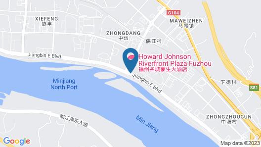 C&D Hotel Mingcheng Fuzhou Map