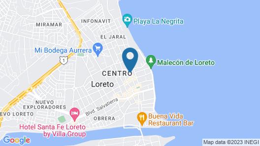 Rosarito Hotel Map