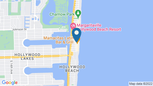 La Terrace Oceanfront Map