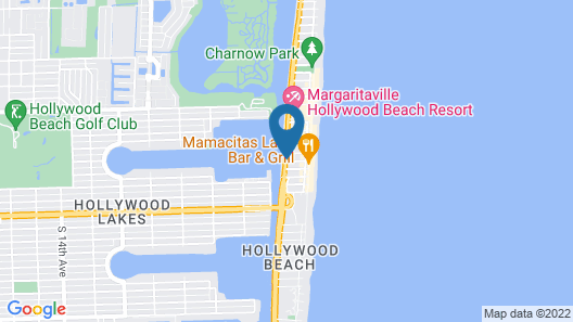 Hollywood Beachside Boutique Suites Map