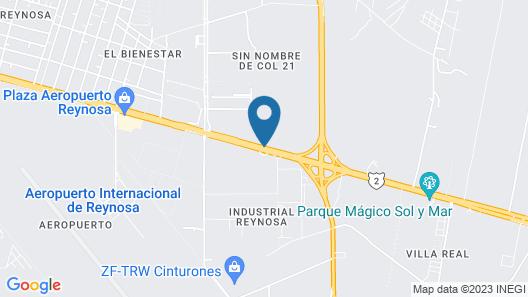 City Express Reynosa Aeropuerto Map