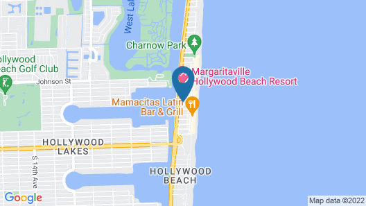 Costa Hollywood Beach Resort Map