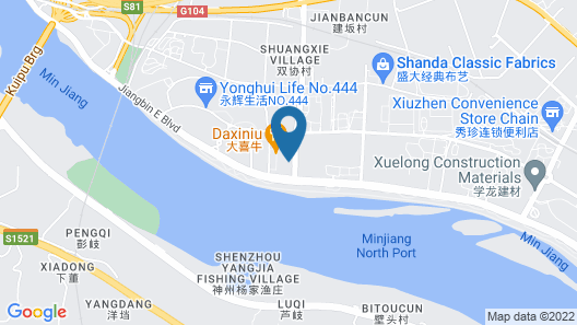 Best Western Plus Ouyue Hotel Fuzhou Map