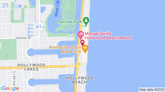The Coral House Motel Map