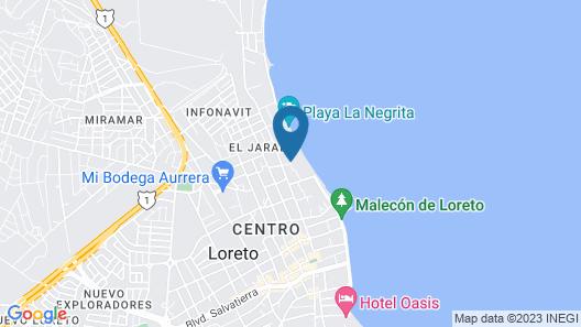 Desert Inn Loreto Map