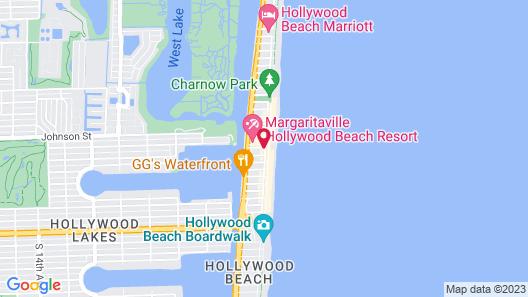 The St. Maurice Beach Inn Map