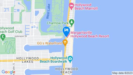 Margaritaville Hollywood Beach Resort Map