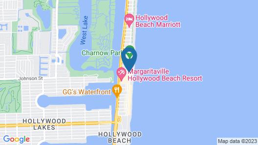 The Diane Oceanfront Suites Map