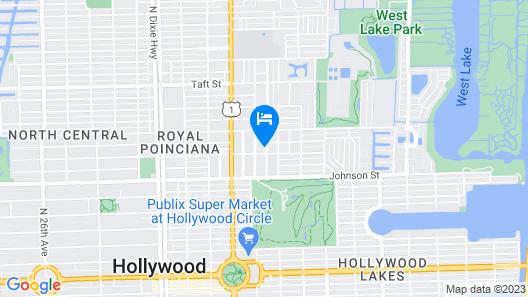 Tropical Breeze 3BR Duplex W/shared Pool Map