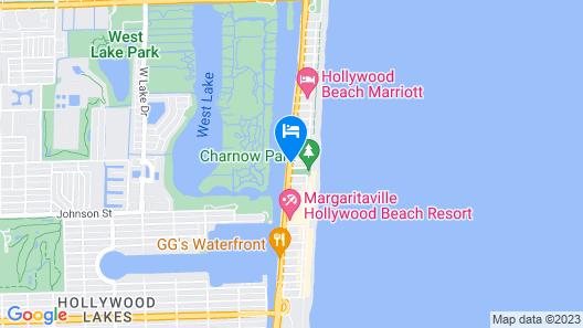 Ocean Drive Villas Map