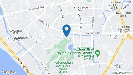 Hilton Garden Inn Fuzhou Cangshan Map