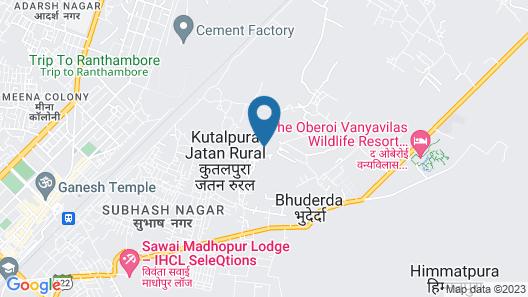 The Aranya Nature resort Map