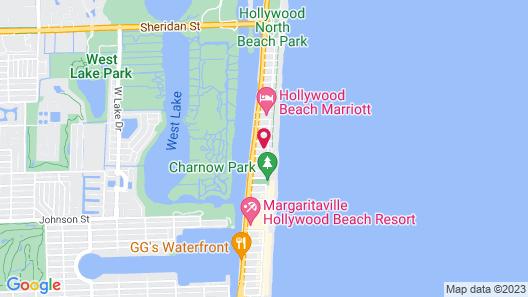 Dolphin Hollywood Map