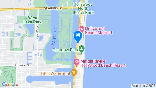 Silver Spray Motel Map