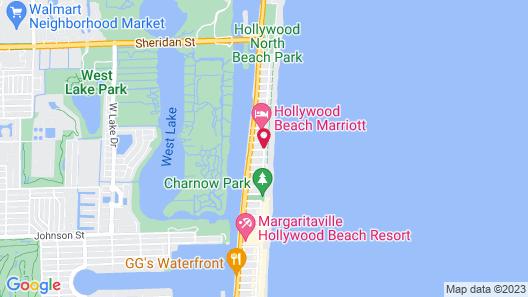 Riptide Oceanfront Hotel Map