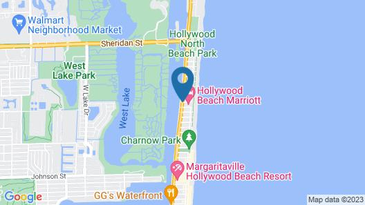 Hollywood Beach Marriott Map