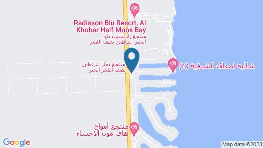 Tamara Beach Resort Map