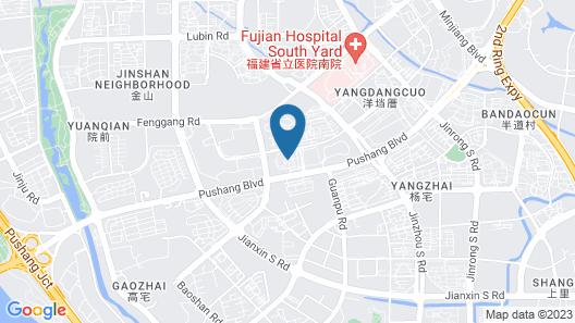 Amitabha Hotel Pushang Branch Map