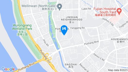 GreenTreeInn Fuzhou JinshanWanda PuShang Avenue Hotel Map