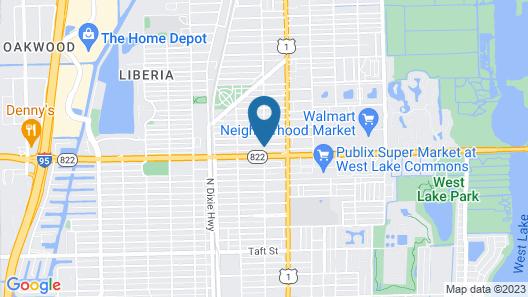 Sheridan Suites Apartments Hotel Map