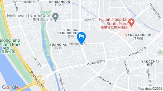 Chen Garden Onsen Hotel Map