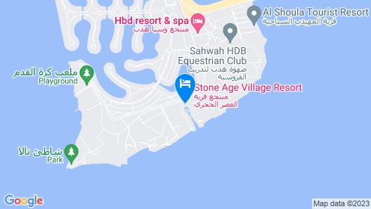 Stone Age village Resort Map