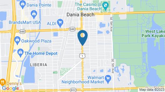 Super 8 by Wyndham Dania/Fort Lauderdale Arpt Map