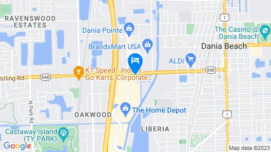 Hotolos Hollywood Map