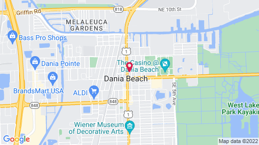 Tru By Hilton Ft. Lauderdale Airport Map