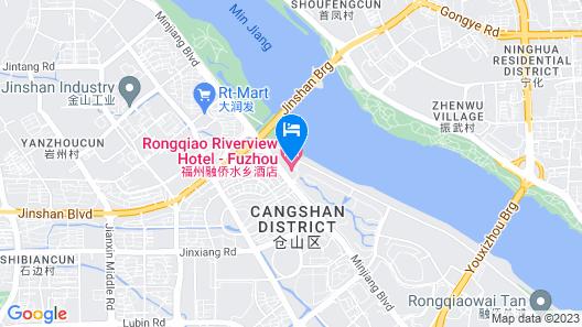 Crowne Plaza Fuzhou South Map