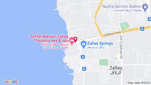 Sofitel Bahrain Zallaq Thalassa Sea & Spa Map