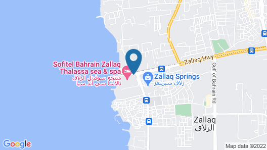 Sofitel Bahrain Zallaq Thalassa Sea & Spa Map