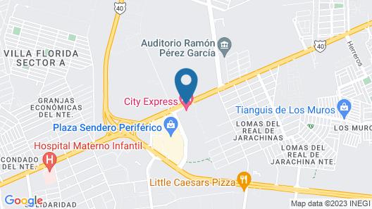 City Express Reynosa Map