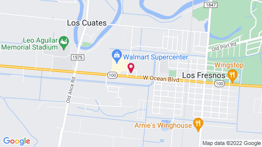 Los Fresnos Inn and Suites Map