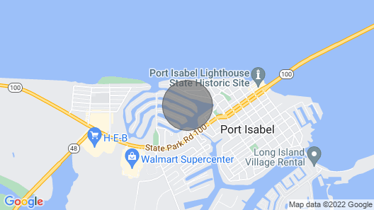 Fishing Paradise in Historic Port Isabel Map
