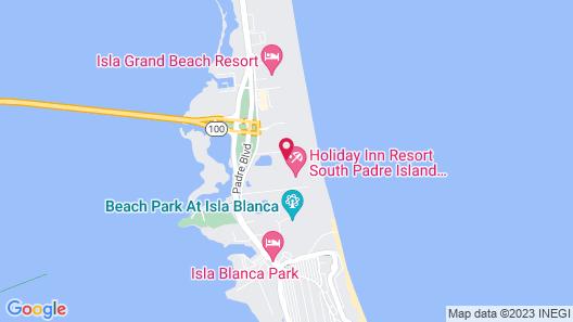 My Sapphire South Padre Island Map