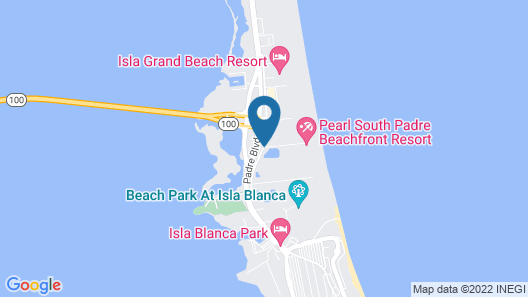 Pearl South Padre Map
