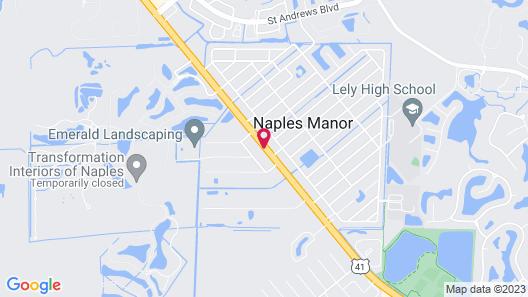 Conty's Motel Map