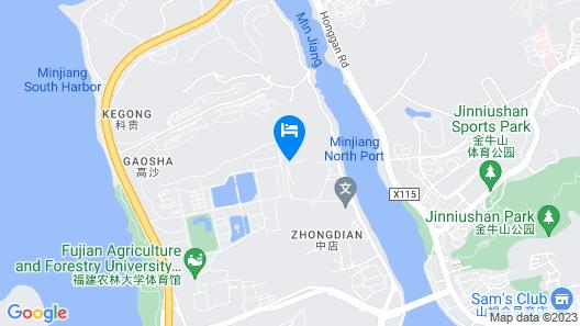 Huating Villa Map