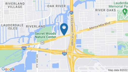 Ramada by Wyndham Fort Lauderdale Airport/Cruise Port Map
