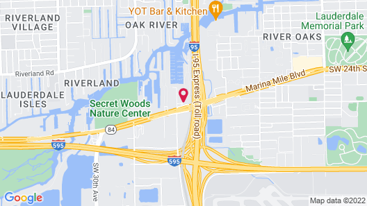 TRYP by Wyndham Maritime Fort Lauderdale Map
