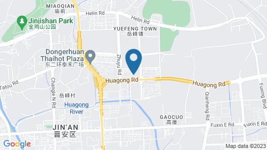 Pullman Fuzhou Tahoe Map