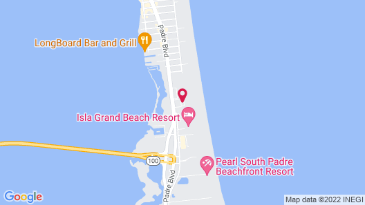 Comfort Suites South Padre Island Map