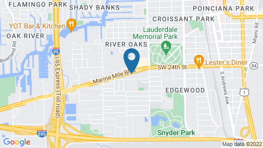 Candlewood Suites Ft. Lauderdale Airport/Cruise, an IHG Hotel Map