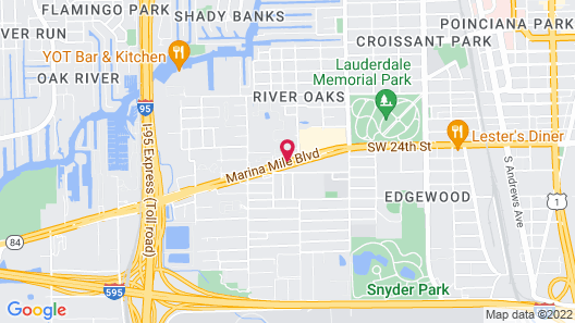 Best Western Fort Lauderdale Airport/Cruise Port Map