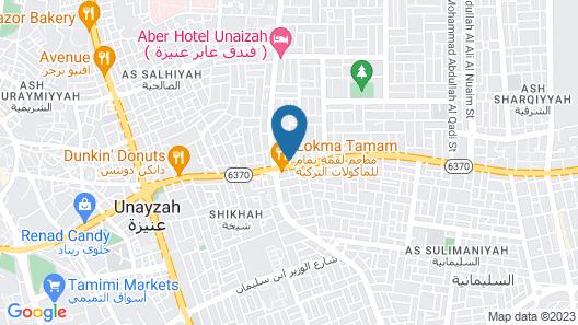 GULANAR HOTEL Map