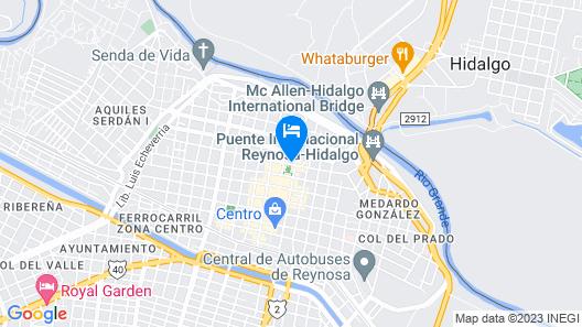 Hotel Posada San Antonio Map