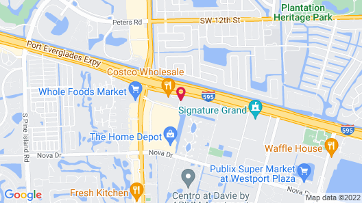 Extended Stay America Suites Fort Lauderdale Davie Map
