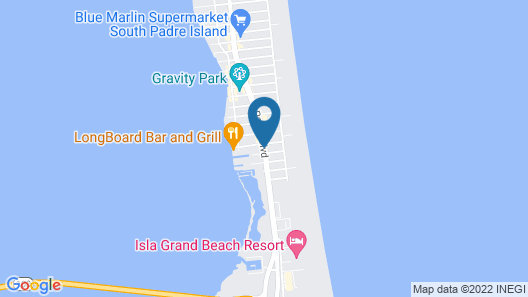 The Inn at South Padre Map